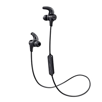 Auriculares Bluetooth Inalámbricos Deportivos, AUKEY Auricular ...