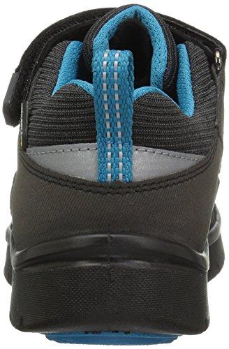Keen Hikesport Waterproof Junior Hiking Schuh - SS18 Black/Blue Jewel toddler