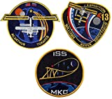 Patch Set International Space Station Expedition 12 13 14 Official