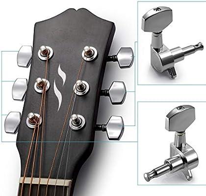 Clavijas de afinación para cuerdas de guitarra, clavijas de ...