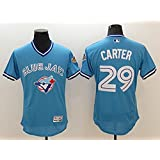 Toronto Blue Jays #29 Carter Throwback Baseball Jersey Size S-2XL