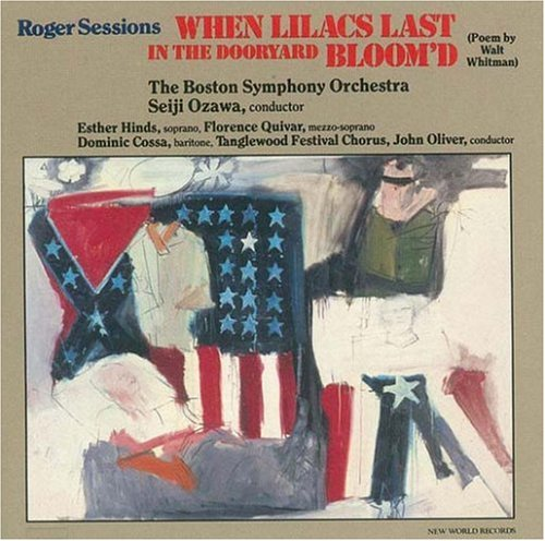 Roger Sessions: When Lilacs Last in the Dooryard - Tanglewood Outlets
