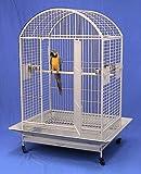 """Kilauea Kastle Dometop Bird Cage - 40"""" X 30"""" X 66"""" - Green Vein"""