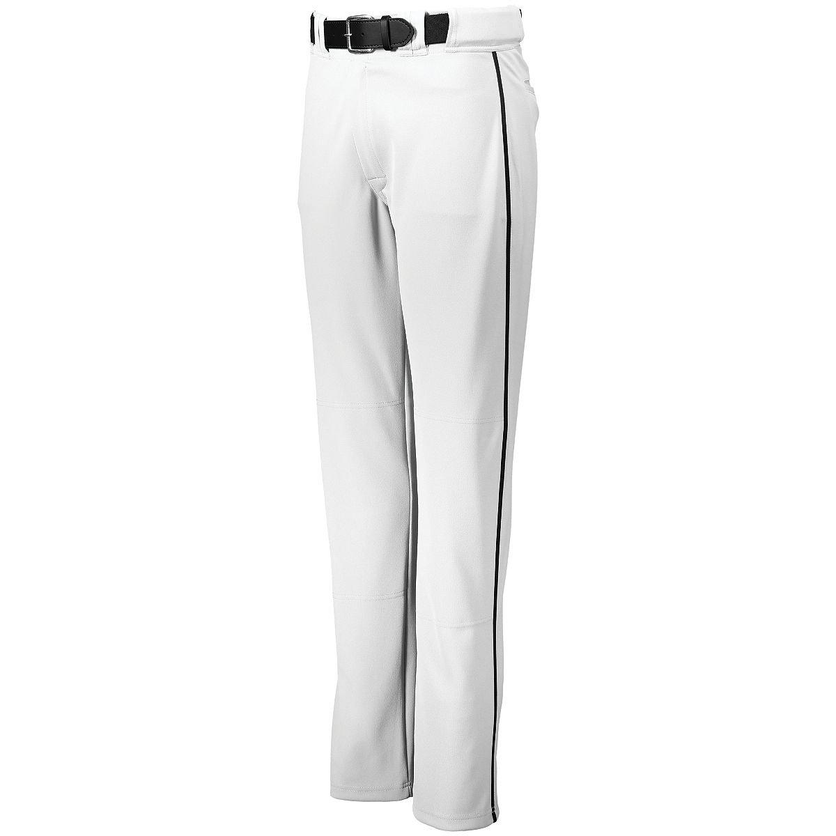 メンズPiped BackstopパンツHollowayスポーツウェア B075TG7SB1 XXX-Large|ホワイト/ブラック ホワイト/ブラック XXX-Large