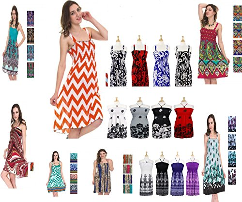 Big-Discount-Wholesale-100pcs-Women-Summer-Dresses-Beach-Cover-up-Sun-Dress