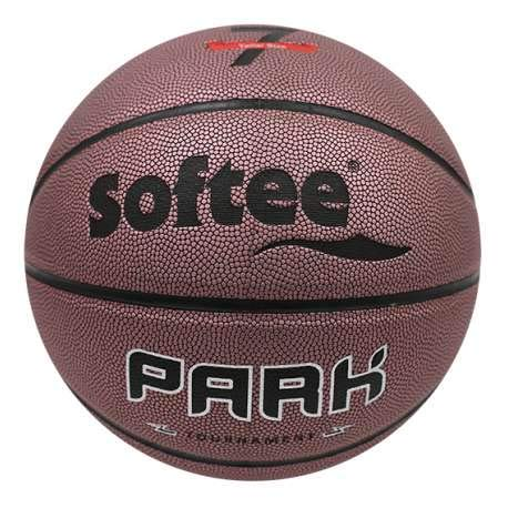 Balon Baloncesto Cuero Softee Park - Talla 7 - Color Marron ...
