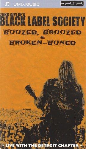 - Black Label Society - Boozed, Broozed & Broken Boned (UMD Mini for PSP) [UMD for PSP]