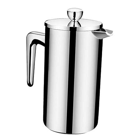 F Fityle 1 Unidad Cafetera Francesa de Doble Pared Utensilios de ...