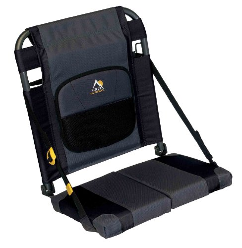 GCI Outdoor SitBacker Canoe Seat, Black (Portable Boat Seats)