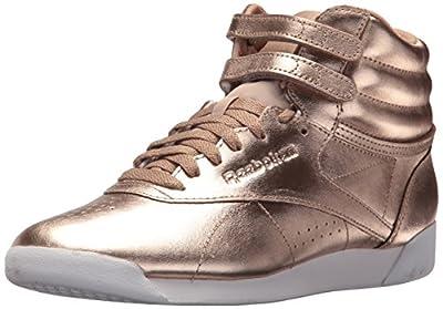 Reebok Women's F/S HI Metallic Sneaker