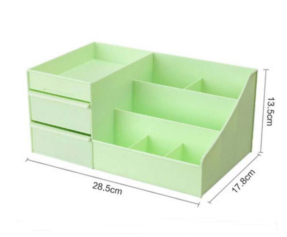 DRAGON SONIC Lovely Durable Plastic Desk Storage Box/Durable Storage Chest