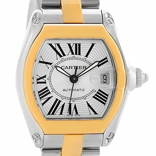 Cartier Roadster automatic-self-wind mens Watch W62031Y4 (Certified Pre-owned)