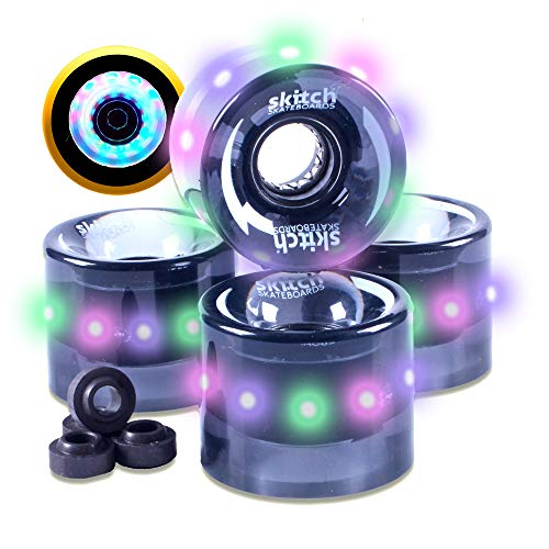 Led Light Up Longboard Wheels in US - 1