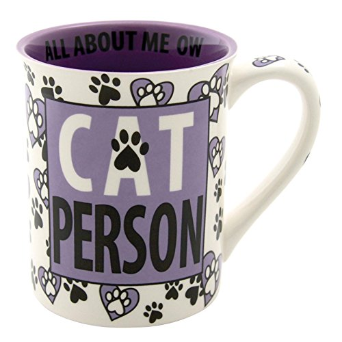 "Our Name is Mud ""Cat Person"" Stoneware Mug, 16 (Secret Pal Ideas For Halloween)"