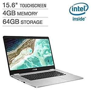 2019-Newest-Asus-Chromebook-156-Full-HD-Touchscreen-1080p-Intel-N4200-Quad-Core-Processor-25GHz-4GB-RAM-64GB-Storage-Brushed-Aluminum-Chassis