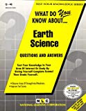 What Do You Know about Earth Science?, Jack Rudman, 0837370469
