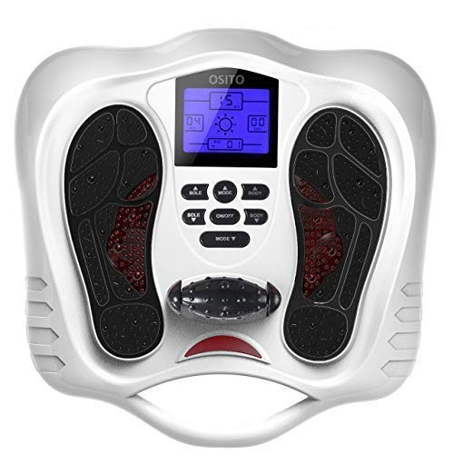 Foot Circulation Plus - Medic Foot Massager Machine with TENS Unit, EMS...