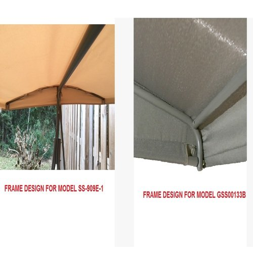 Garden Winds Replacement Canopy For Lowes Garden Treasures SS 909E 1 Swing  U2013 Riplock 350 LCM620B