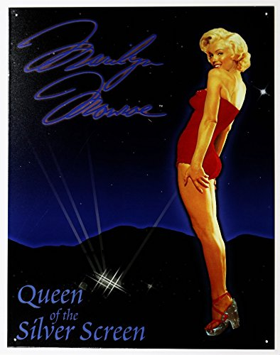 Marilyn Monroe Queen of the Screen Tin Sign 13 x 16in ()