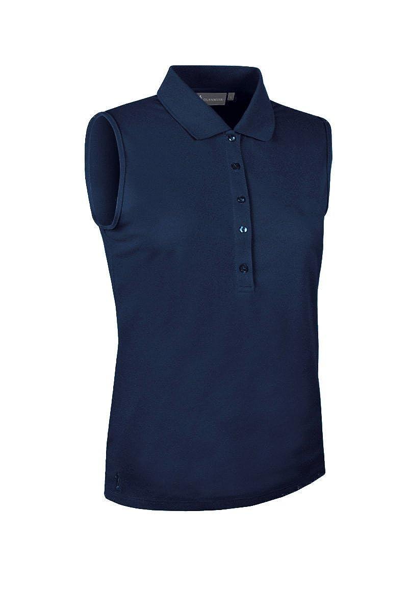 Glenmuir Ladies LSP2557 Performance Pique Sleeveless Polo Shirt