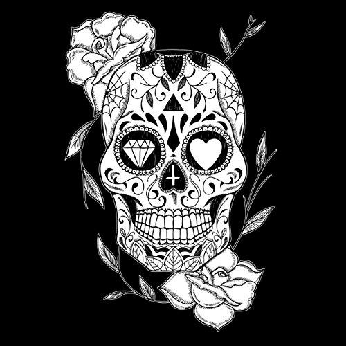 Nero Skull Viento Uomo Canotta Mexican xq8xAw01O