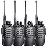 Olywiz HTD-826 Handheld Walkie Talkie 16 Channels Long Range Two Way Radio Special Designed in Sport Cars Appearance 4 PACK