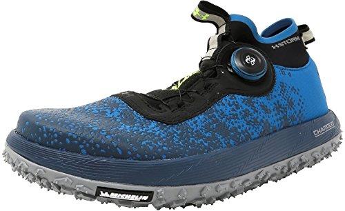 Sous Larmure Les Femmes Ua Gros Pneu 2 Chaussures De Course Bayou Bleu / Acier / Véritable Encre