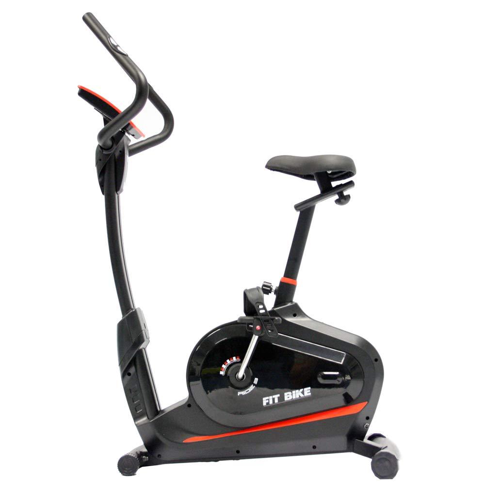FitBike Heimtrainer Ride 3 - 16 Widerstandsniveaus mit 12 Trainingsprogrammen - 7 kg Schwungrad - Fitnessbike