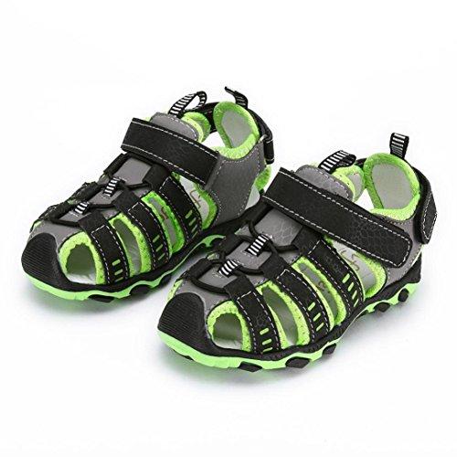 OWMEOT Baby Boys Girls Moccasins Soft ❤️Sole Tassels Prewalker Anti-Slip Shoes 26-37 (Green, 28) by OWMEOT