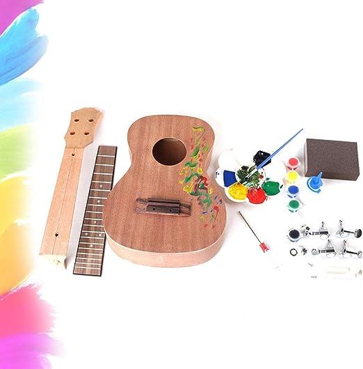 Ukelele Cokeymove DIY de 23 pulgadas, para guitarra, montaje ...