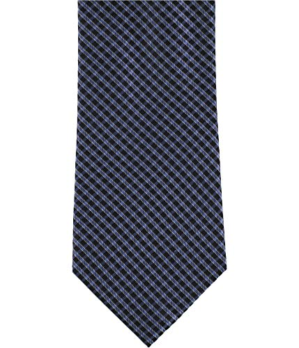 Tonal Tie Silk Blue (Bloomingdale's Mens Tonal Grid Necktie Blue One Size)