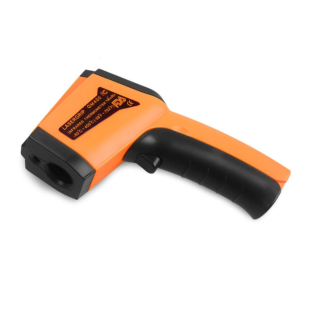 Laser Infrared Thermometer, Digital Temperature Gun Non-Contact -58℉~1076℉ (-50℃ ~ 580℃) for Meat Refrigerator Pool Oven