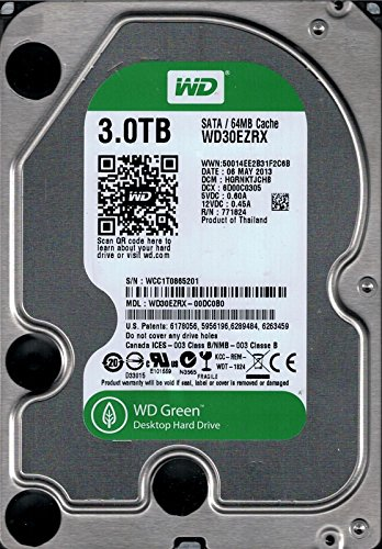 western digital green 3tb - 7