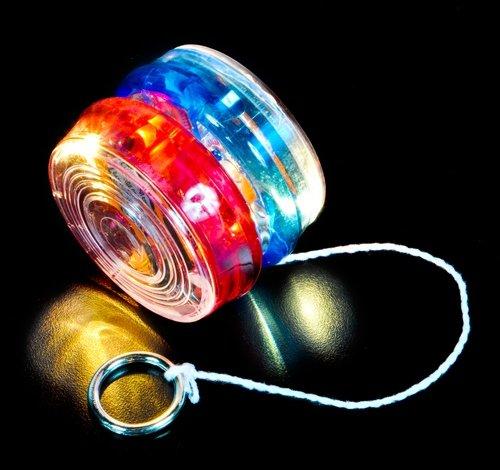 DollarItemDirect 2.25 inches Light-Up Yo-Yo, Case of 144