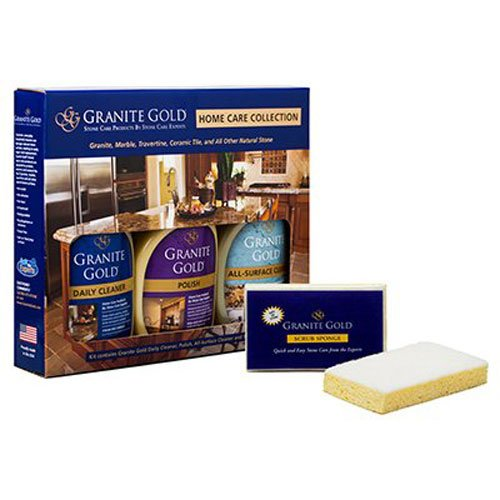 Granite Gold Home Care Collection granite cleaner, granite polish, all-surface (Gold Granite)