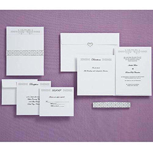 - Wilton Heart Wedding Pocket Invitation Kit