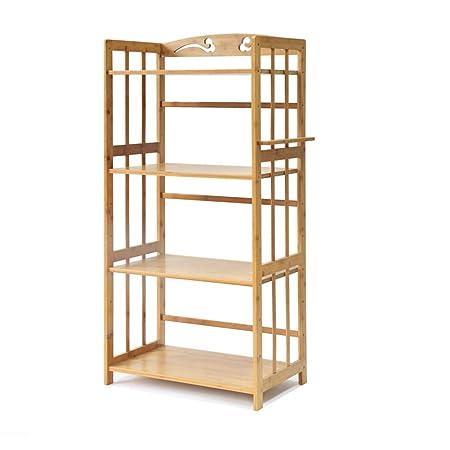 Kitchen Shelves Organiser Zxldp 4 Tier Kitchen Baker S Rack Large