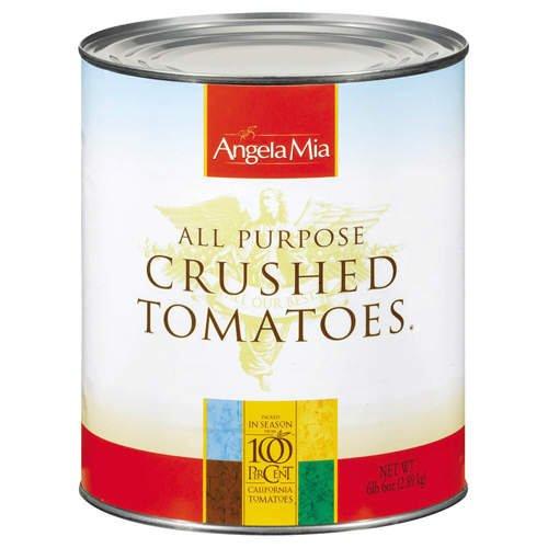 Angela Mia All Purpose Crushed Tomato, 102 Oz