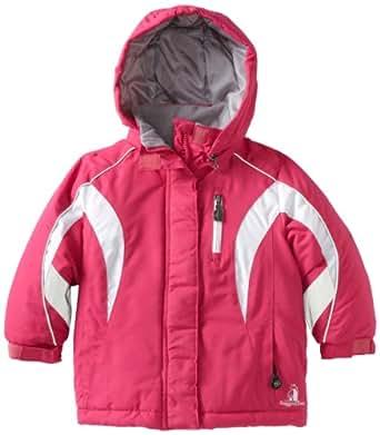 rugged bear little girls 39 heavy ski jacket. Black Bedroom Furniture Sets. Home Design Ideas