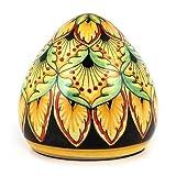 DERUTA PAPERWEIGHT: Large conic Shape Deruta Vario design