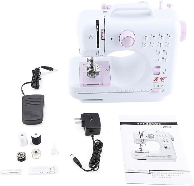 FHSM 505A - Máquina de coser electrónica con pedal de pie ...