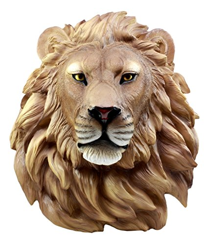 Ebros Mufasa Lion Head Wall Decor Plaque 16
