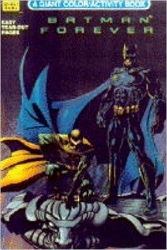 Batman Forever Activity Colouring Book 9780307812865 Amazon Com Books