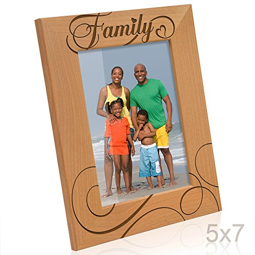 Kate Posh - Family Picture Frame (7 Vertical Picture Frame)