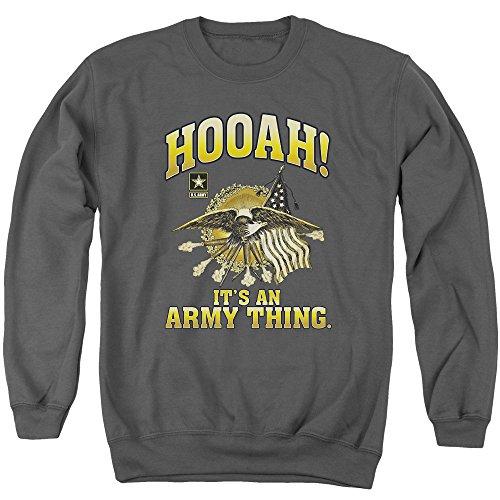 Army - Hooah Adult Crewneck Sweatshirt