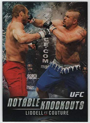2018 Topps Chrome UFC Notable Knockouts #NK-CL Chuck Liddell