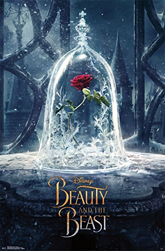 Beast Poster Movie - Trends International Beauty and The Beast Teaser Wall Poster 22.375