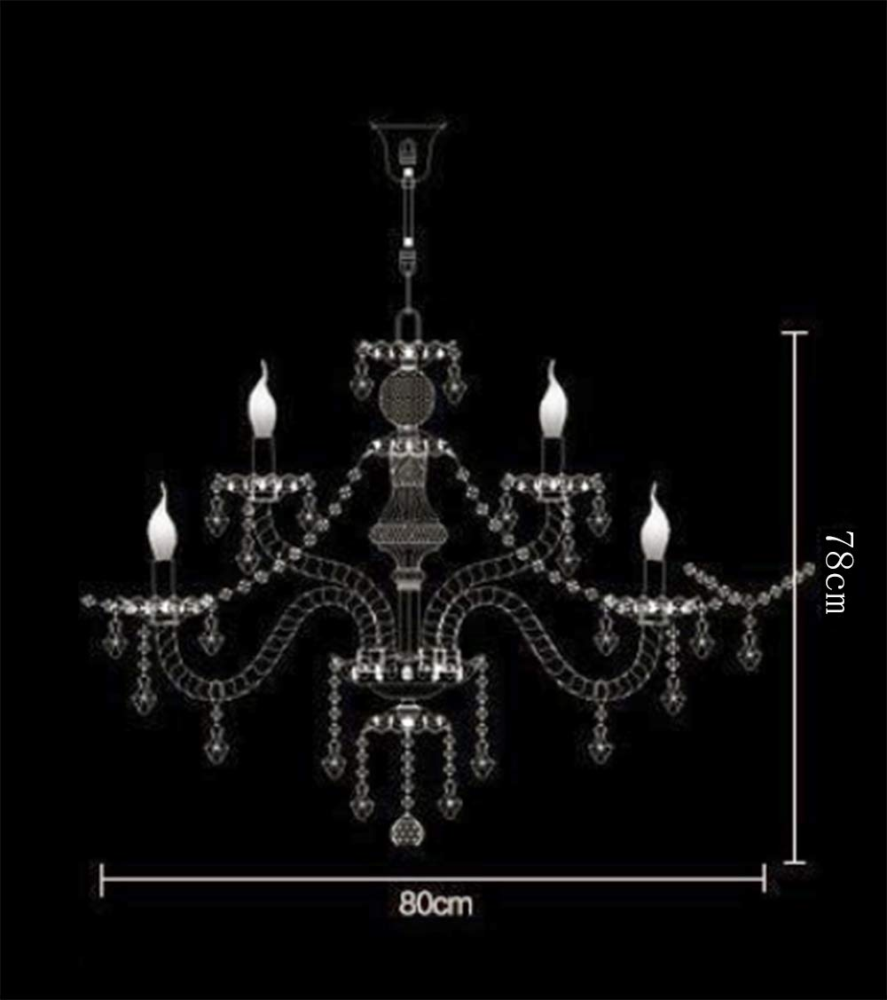 Generic Island Lights Crystals Chandelier 15 Lights Ceiling Fixtures Color Cognac by Unknown (Image #9)