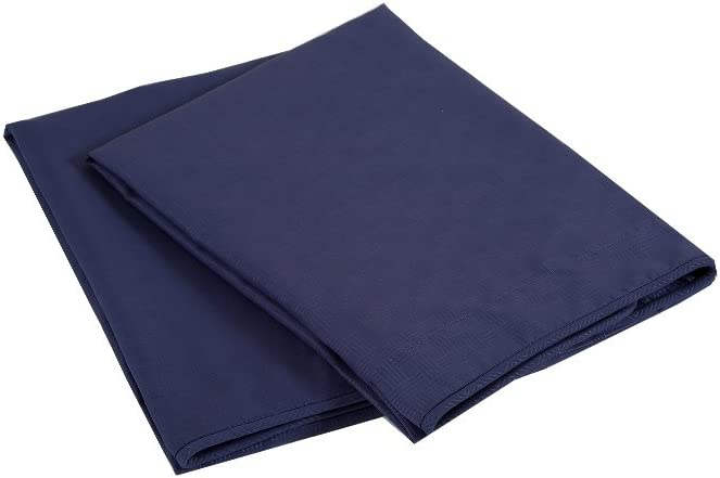 King, Navy Affluence Luxury Microfiber Shams