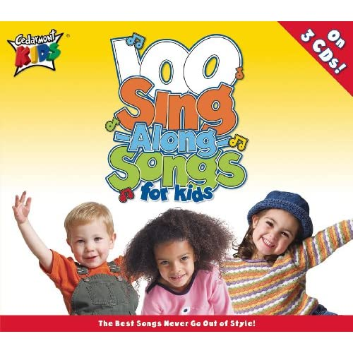 100 Singalong Songs Kids Cedarmont product image